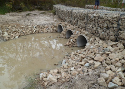 Gabion Basket Pipe Crossing at Wide bay Training Area